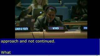 "Viva Tatawaqa's Intervention on ""Countries in Special Situations"", HLPF 2016: http://webtv.un.org"