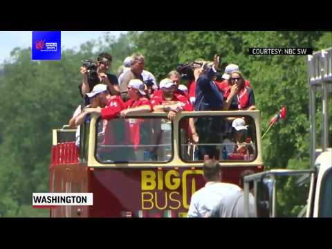 Washington D C  transit system trolls Trump with Capitals parade tweet