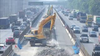 Video Proyek Jalan Tol Jakarta - Cikampek Elevated MP3, 3GP, MP4, WEBM, AVI, FLV September 2018