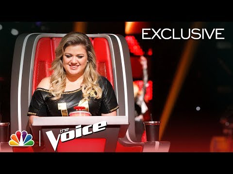 The Voice 2018 - New Coach Kelly Clarkson's First Day (Digital Exclusive) (видео)