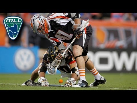 MLL Week 4 Highlights: Rochester Rattlers at Denver Outlaws_Best videos: Lacrosse