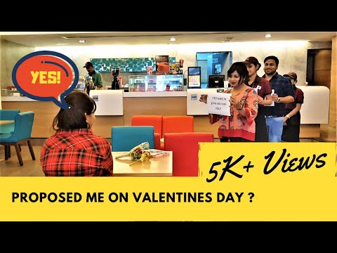 Video Surprise Marriage Proposal on Valentine's Day @ Kolkata, India – Sunny & Divya download in MP3, 3GP, MP4, WEBM, AVI, FLV January 2017