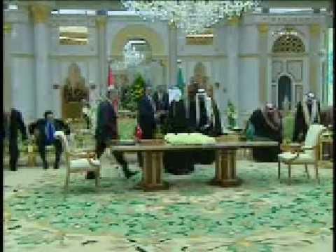 Cumhurbaşkanı Gül, Suudi Arabistan-da