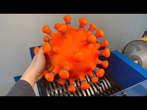Shredding Coronavirus!