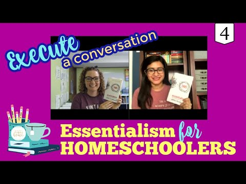"""#4 HOMESCHOOL LESSONS FROM """"ESSENTIALISM: THE DISCIPLINED PURSUIT OF LESS"""""""