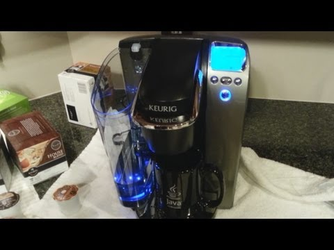 Keurig K75 Platinum Coffee Brewer Unboxing and Features Overview