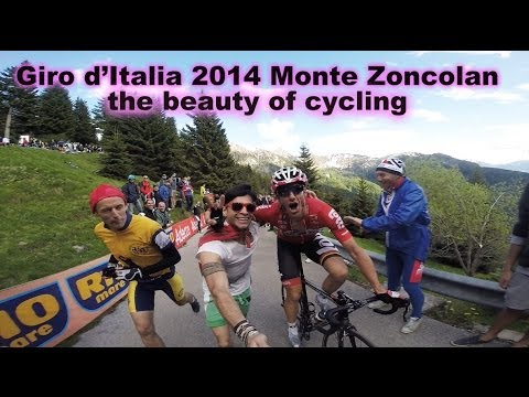 Film: Fan's-eye view on Monte Zoncolan