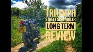 2. 2017 Triumph Street Scrambler Long Term Review