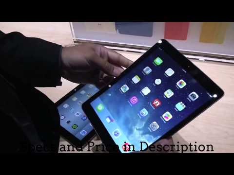 Apple iPad Air Technical Specifications and Price