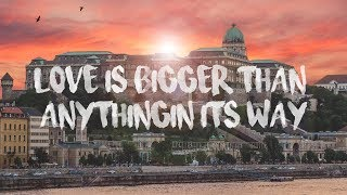 U2 X Cheat Codes - Love Is Bigger Than Anything In Its Way