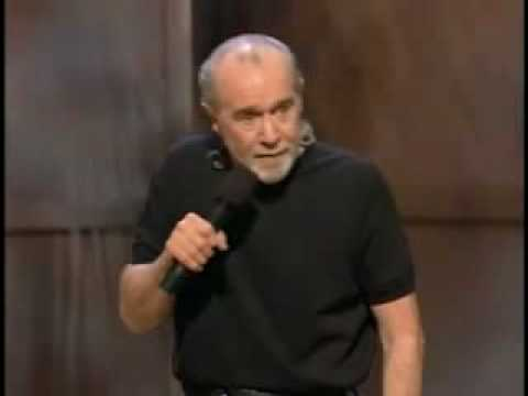 George Carlin Expressions and Sayings