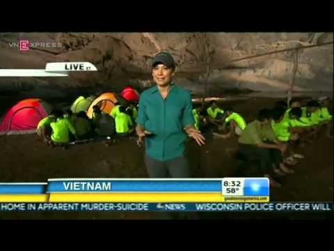 Hang Sơn Đoòng: Lớn nhất thế giới truyền hình trực tiếp trên kênh ABC của Mỹ