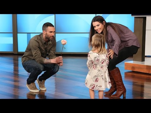 Little Girl Who Cried That Adam Levine Is Married Meets The Star On