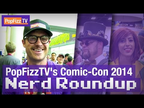 Nerd - Subscribe now: http://www.youtube.com/subscription_center?add_user=funnyordie PopFizzTV's Rayvis T takes to the floor at San Diego Comic Con to talk to the nerds, and then experiences a harrowing...
