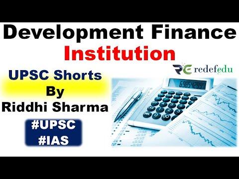 Development Finance Institution UPSC Prelims Current Affairs | UPSC Shorts #RiddhiSharma