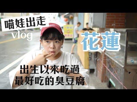 台灣最好吃的臭豆腐在花蓮?喵娃出外景 ❤︎ 古娃娃WawaKu