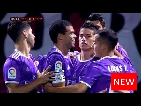 Cultural Leonesa vs Real Madrid 1-7 - Full Match Highlights - 26/10/2016 HD 1080i