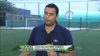Gabriel jesus è duvida para jogo de hoje contra flamengo...