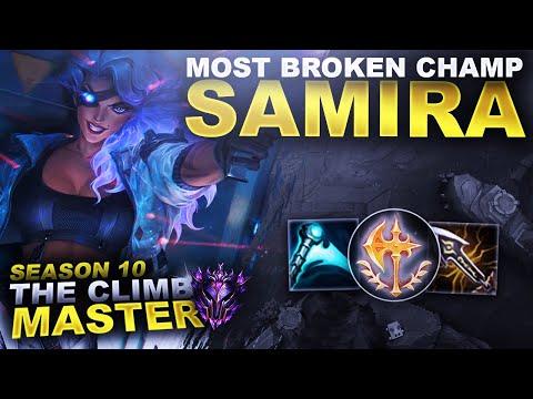 THE MOST BROKEN LEAGUE CHAMP EVER?!? SAMIRA! | League of Legends
