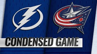 02/18/19 Condensed Game: Lightning @ Blue Jackets by NHL