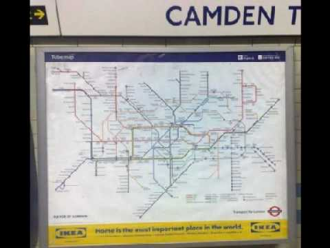 Clive Bull LBC 97.3 and Tallulahfromelectricparade London Tube Map without River Thames.wmv