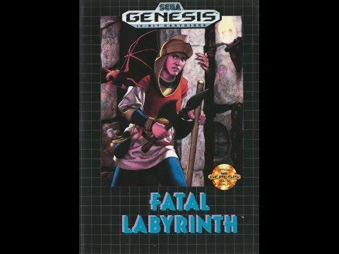 fatal labyrinth sega mega drive