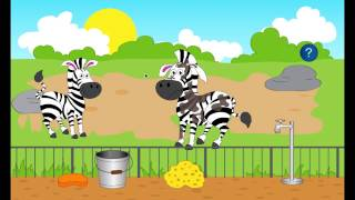 Trip to the zoo for kids Видео YouTube