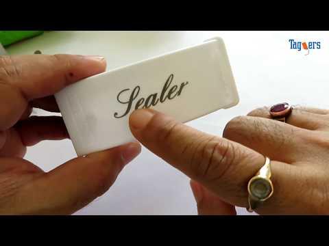Mini Portable PLASTIC BAG SEALER | Overview & Test
