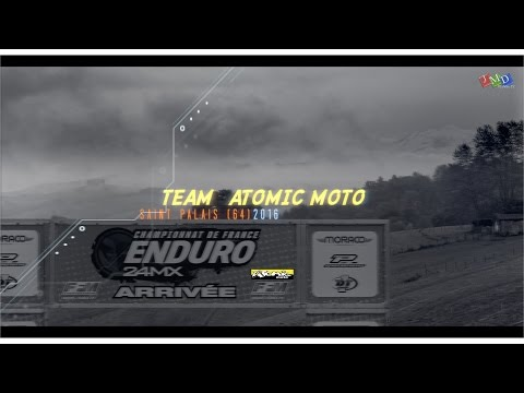 Le Team Atomic Moto à Saint Palais