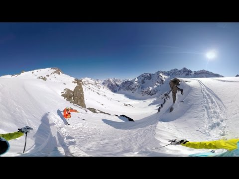 GoPro VR: Skiing in Portillo, Chile with Chris Davenport and Julia Mancuso