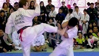 Kurume Japan  City new picture : KARATE TOURNAMENT IN KURUME Japanese Karate, full contact, bare knuckle fighting.