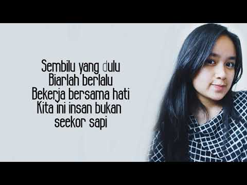 Zona Nyaman - Fourtwnty ( Chintya Gabriella Cover ) Lyrics