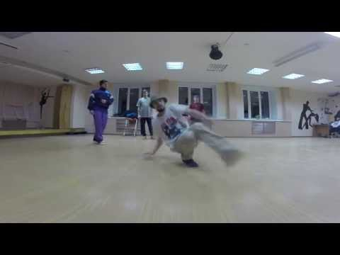 Bboy Dale - training session (footwork)