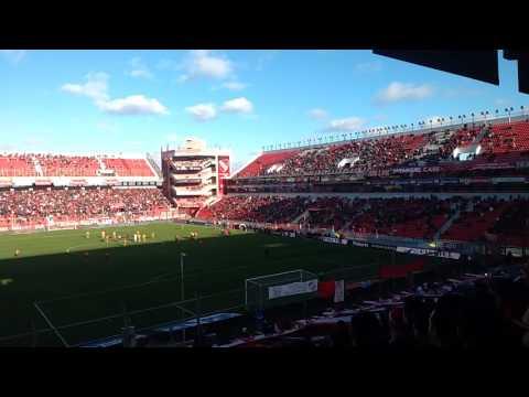 El recibimiento Independiente 1 vs Olimpo 1 - La Barra del Rojo - Independiente