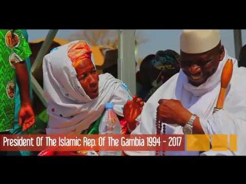 BABILI MANSA,  PRESIDENT OF THE GAMBIA 1994 - 2017