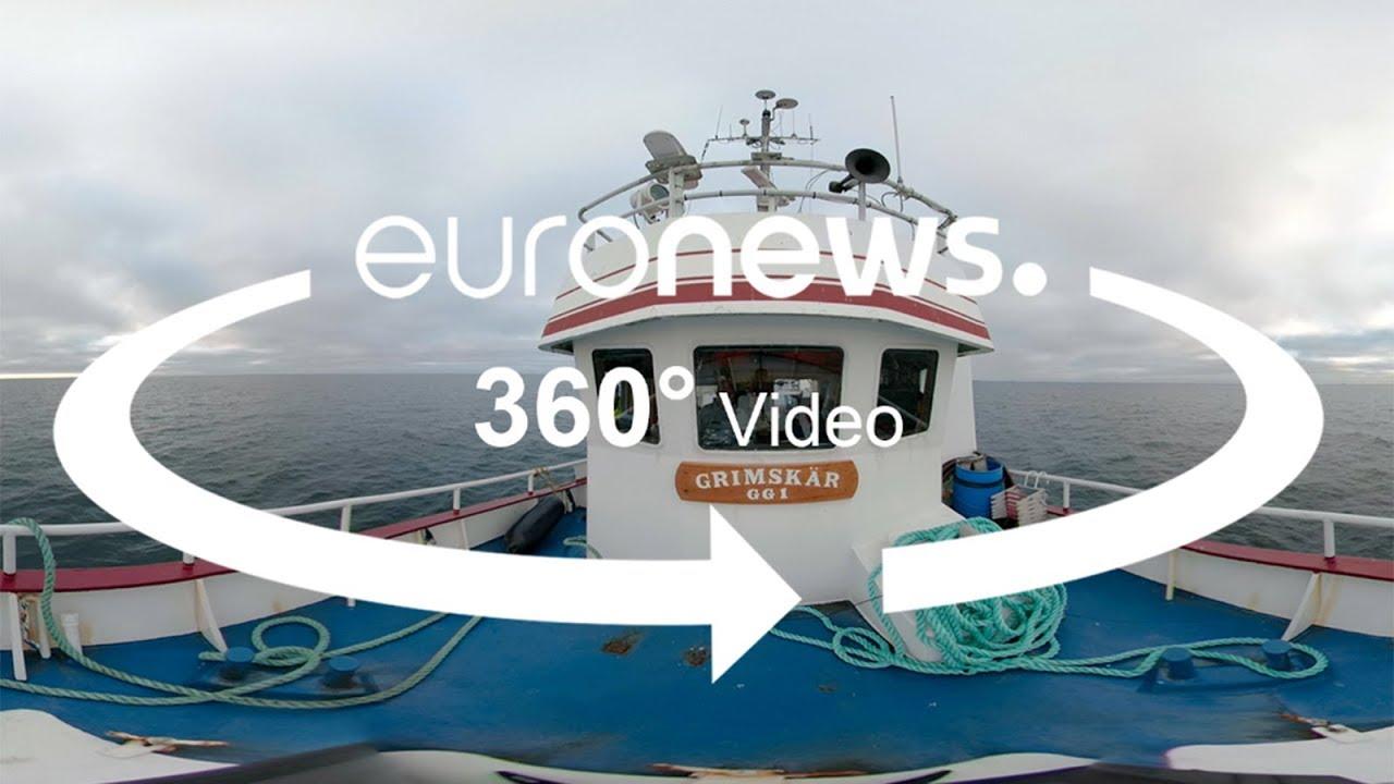Σουηδία: Το Euronews σε ένα αλιευτικό γαρίδων