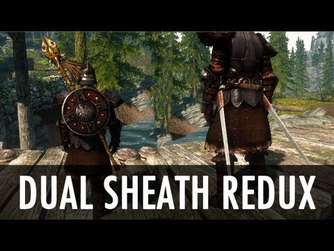 Skyrim Mod: Dual Sheath Redux