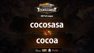하스스톤 인벤 토너먼트 8강 4회 2라운드 cocosasa VS cocoa