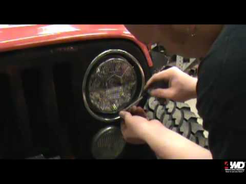 Truck-Lite LED Headlight Installation & Comparison