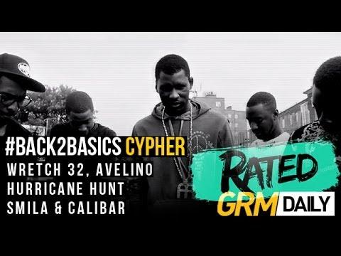 #RATED   BACK2BASICS CYPHER   WRETCH 32, AVELINO, HURRICANE HUNT, SMILA & CALIBAR @GRMDAILY