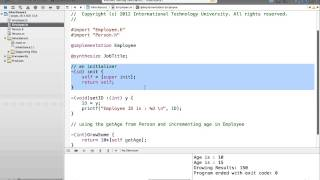 Fall 13-2 Objective-C - Lecture 7
