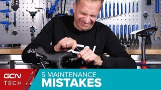 Video Worst Bicycle Maintenance Mistakes You Must Avoid! | GCN Tech's Top 5 MP3, 3GP, MP4, WEBM, AVI, FLV November 2018