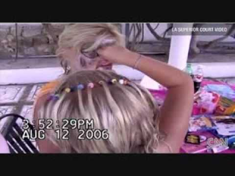 .The true sick story behind Anna Nicole Smith and the clown video.