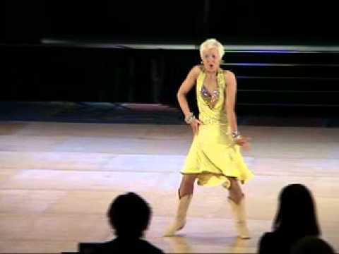 Emily Drinkall на чемпионате мира UCWDC Superstar Jive 2012