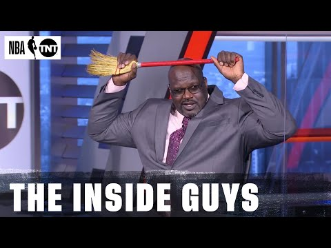Shaq Tried To Break Everything in Studio J | NBA on TNT
