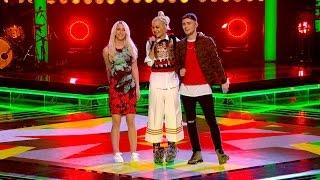 Rita Ora&her Team Perform Rude - The Voice UK 2015: The Live Semi-Final - BBC One