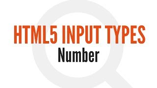 HTML5 Input Types: Number (6/14)