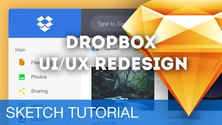 Sketch 3 tutoriel – Redesign de Dropbox avec SketchApp