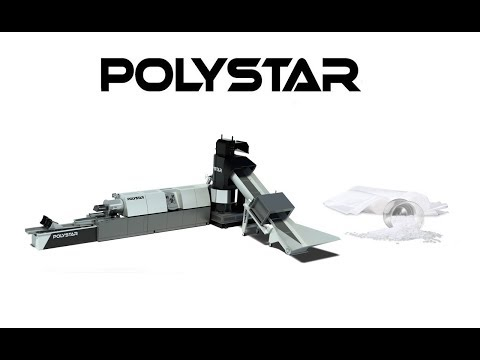 Polystar Taiwan : HDPE Recycling Machine