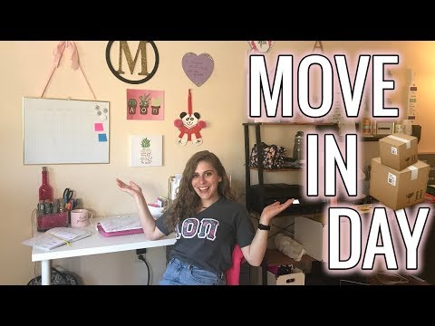 Sorority House Move In Day | College Move In Day | Alpha Omicron Pi At The Ohio State University